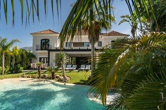 7 bedroom villa in nueva andalucia, marbella