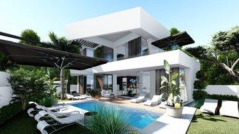 3 bedroom villa in new golden mile, estepona