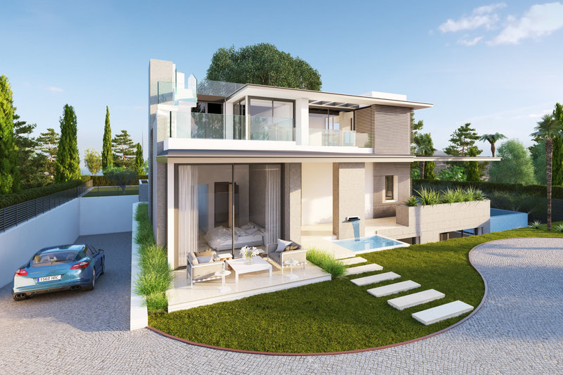 Casa moderna en venta en altos de puente romano 2312mlv for La casa moderna