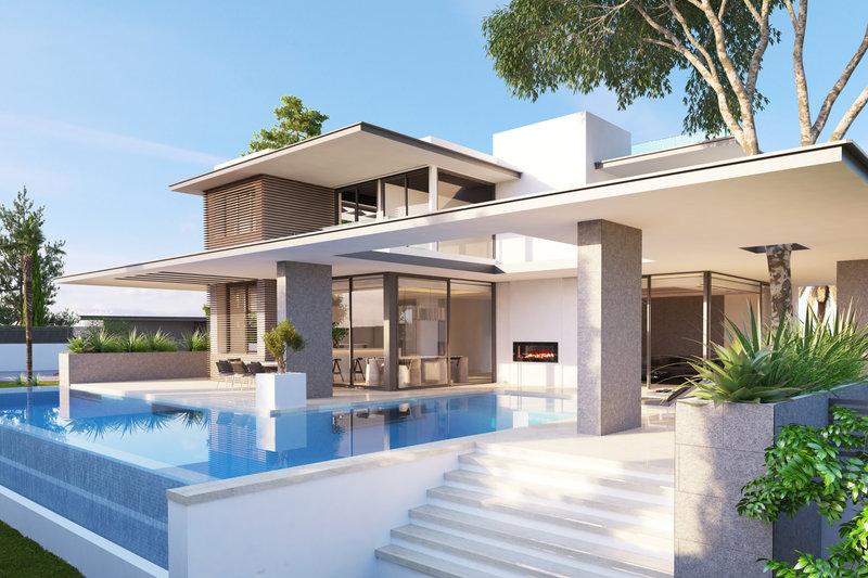 casa moderna en venta en altos de puente romano 2312mlv