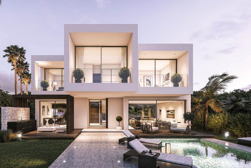 Modern villa for sale in new golden mile 2515mlv for Casa moderno kl