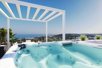 3 bedroom penthouse in costa del sol, estepona