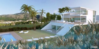 5 bedroom villa in reserva del higueron, benalmadena