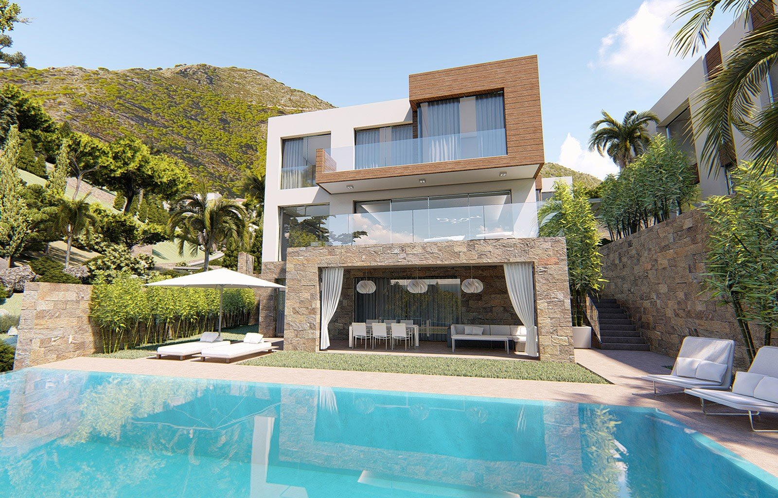 Villa with Sea Views for sale in Mijas Pueblo - MAS434831