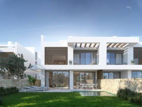 4 bedroom villa in cabopino, marbella