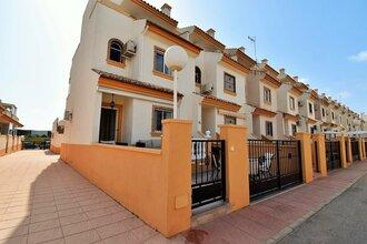 3 bedroom townhouse in playa flamenca, orihuela costa