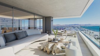 4 bedroom penthouse in costa del sol, malaga