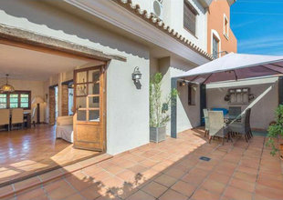 3 bedroom townhouse in cancelada, estepona