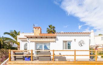3 bedroom villa in costa del sol, moraira
