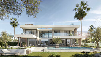 4 bedroom villa in new golden mile, estepona