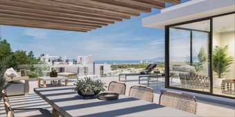 2 bedroom penthouse in cabopino, marbella