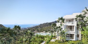 3 bedroom penthouse in costa del sol, ojen