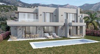 4 bedroom villa in mijas pueblo, mijas