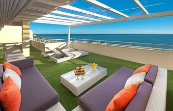 4 bedroom penthouse in cabopino, marbella