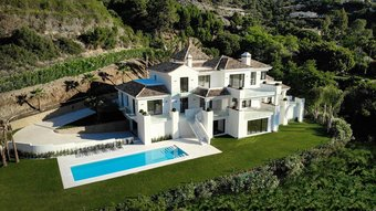 Villa with Sea Views for sale in La Zagaleta