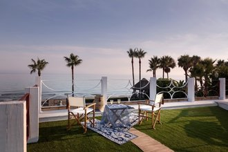 Frontline Beach Villa for sale in Los Monteros