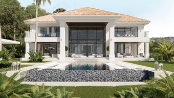 6 bedroom villa in el madronal, benahavis