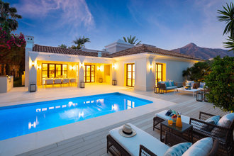 Frontline Golf Villa for sale in Las Brisas