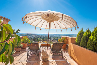 Penthouse with Sea Views for sale in Les Belvederes