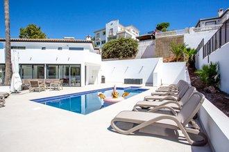 4 bedroom villa in la cala de mijas, mijas