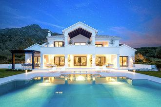 7 bedroom villa in sierra blanca, marbella