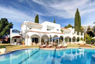 6 bedroom villa in puerto banus, marbella