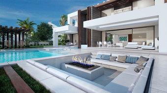 4 bedroom villa in costa del sol, manilva