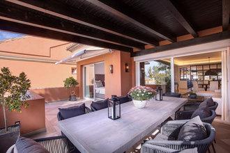 3 bedroom penthouse in puerto banus, marbella