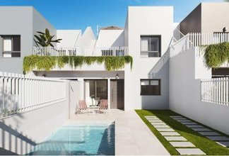3 bedroom townhouse in costa del sol, san pedro del pinatar
