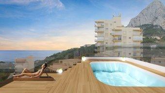 2 bedroom apartment in costa del sol, calpe