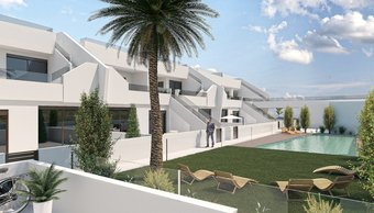 3 bedroom penthouse in costa del sol, pilar de la horadada