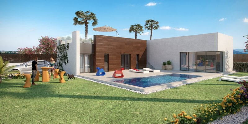 Casa moderna en venta en ele villas la finca golf m288766 for Casas en ele modernas
