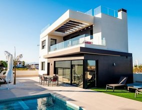 3 bedroom villa in costa del sol, algorfa