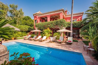 8 bedroom villa in el rosario, marbella