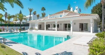 9 bedroom villa in nueva andalucia, marbella