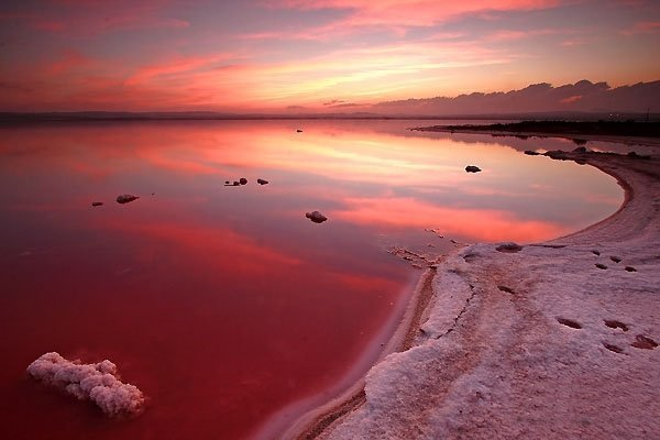 Соленое озеро в испании торревьеха на карте