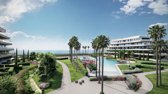 2 bedroom apartment in playamar, torremolinos