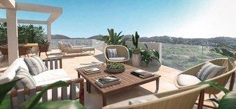 3 bedroom penthouse in costa del sol, mijas